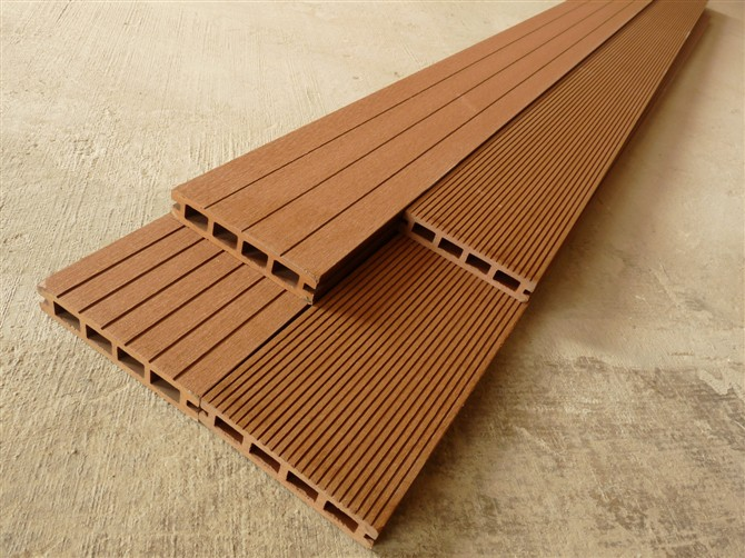 Flooring Materials Supplies : Mm wpc decking flooring for outdoor building