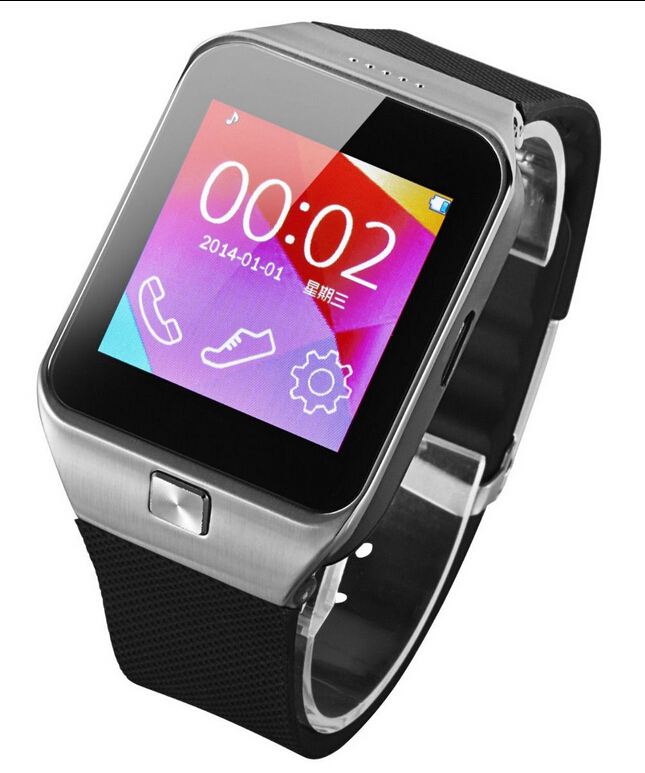 Bluetooth Smart Wrist Watch Phone Mate For IOS Android Samsung iPhone 5 6 HTC LG