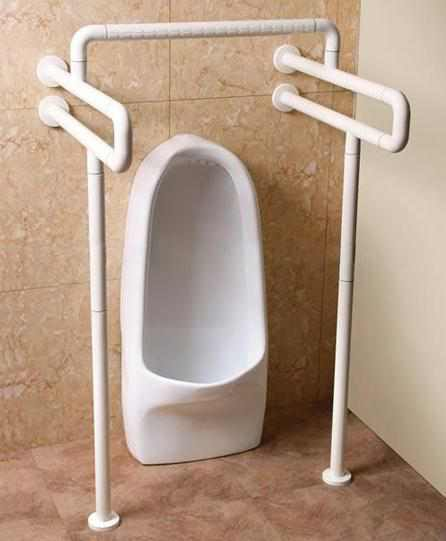 Urinal Used Handrails