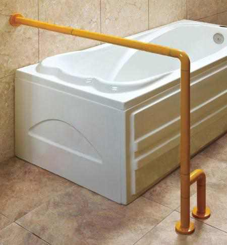 Bathtub Used Handrails