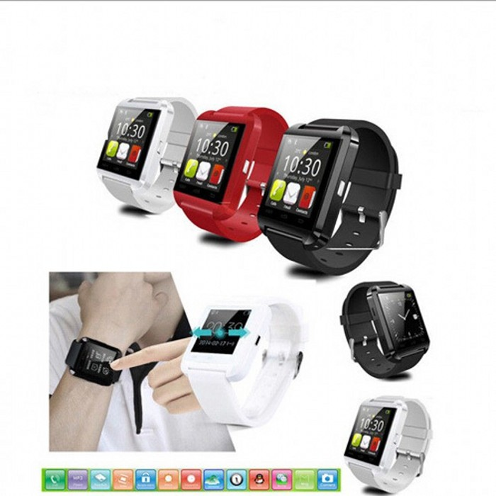 Bluetooth U8 Smart Wrist Watch for iPhone Samsung HTC LG Android Phone 5 6 Plus