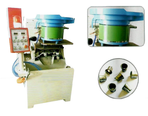 Supplier of The pneumatic 2 spindle expanding nut tapping machine