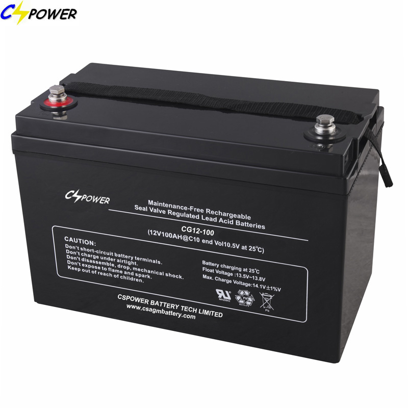 Solar Gel Battery 12V100ah for Solar System