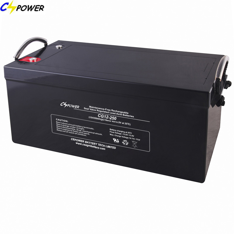 Long Warranty Gel Battery for Solar Power (12V250AH)