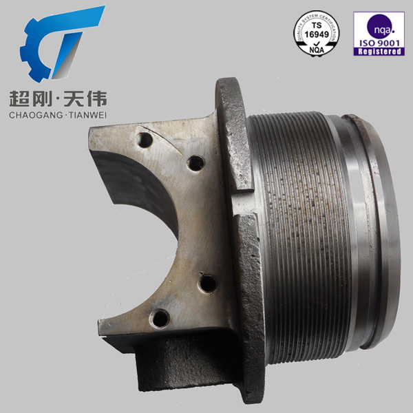 TS16949 ISO9001high quality hydraulic cylinder component--machined castings