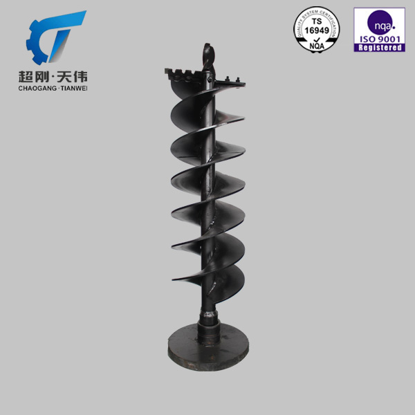 ISO9001 Earth auger mining construction machinery parts
