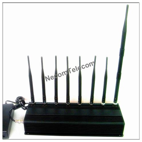 CPJ3060Eight Antenna for all Cellular-GPS-Lojack-Alarm Jammer system