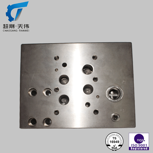 high precision machining valve body steel casting