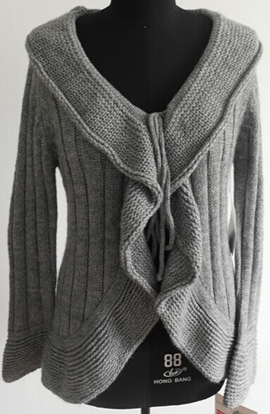 Fashion Handmade Woolen Sweater For Lady