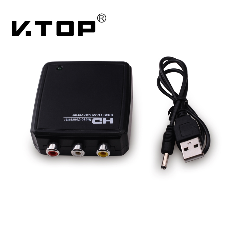 HD2R01,HDMI to Composite Converter with Audio
