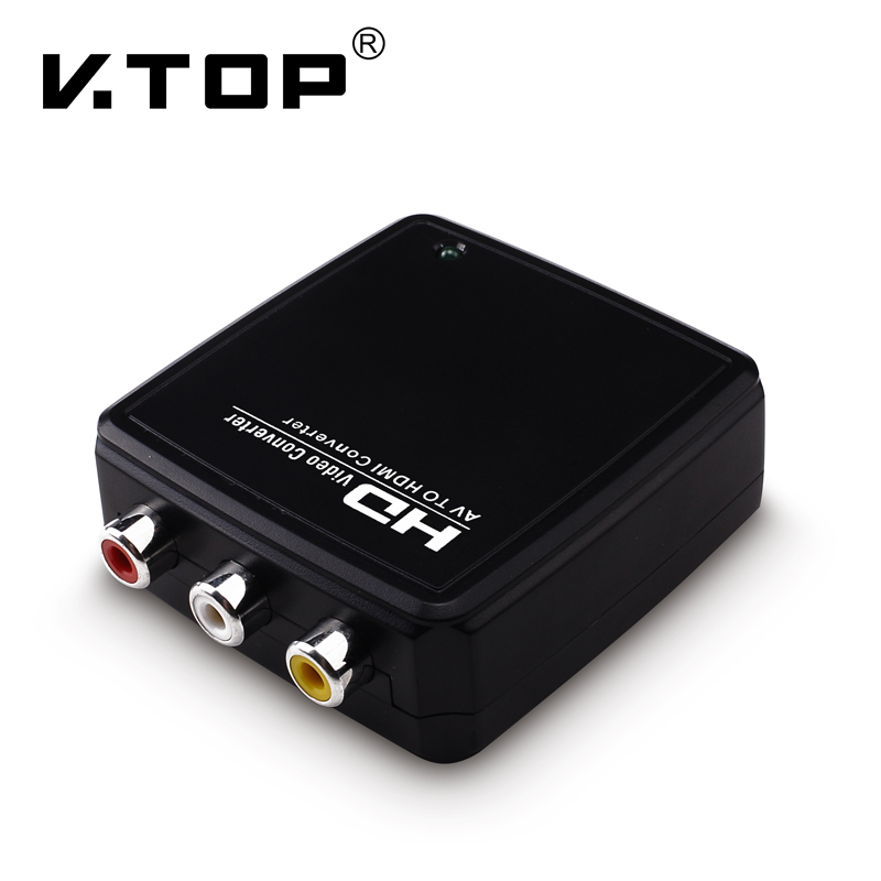R2HD01,HDMI to Composite Converter with Audio