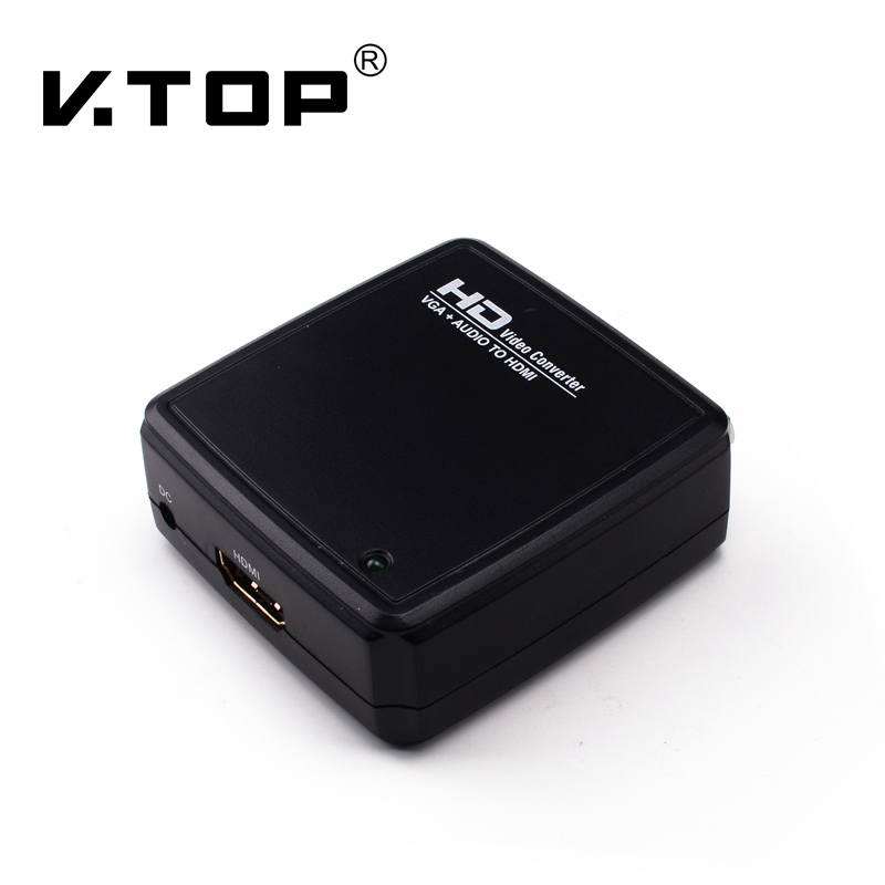 V2HD02,GA to HDMI Converter with Audio & Video
