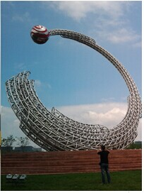 Large Steel Sculpture