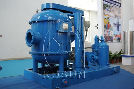 Oil drilling mud vacuum degasser