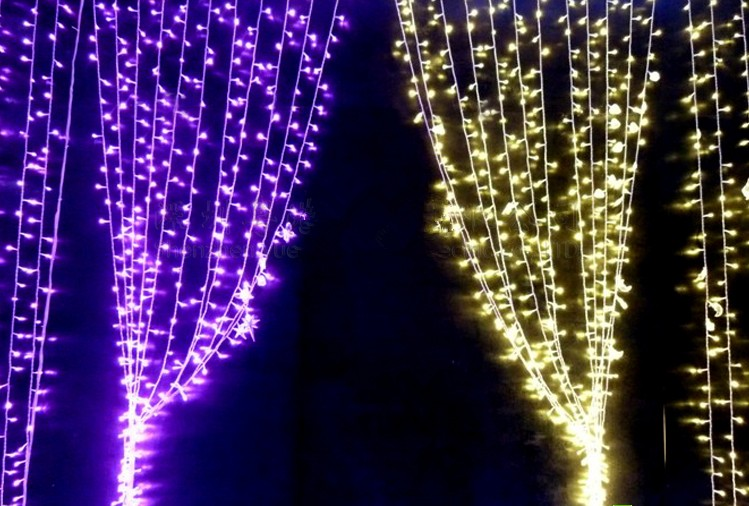 Curtain Light   christmas decorative lights