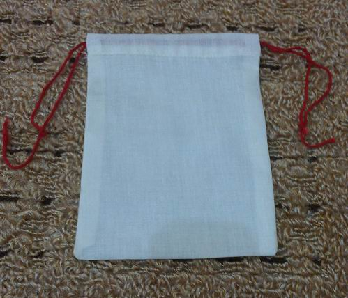 Unbleached Cotton Muslin Bag/ Party Favor Bag/ Coin Bag