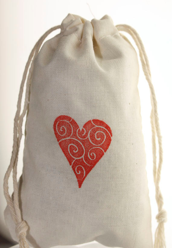 Muslin Drawstring Bag/ Grain Bag/ Party Bag