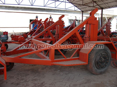 reel trailers,cable-drum trailers,cable winch