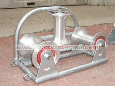 Cable Laying Equipment -Cable Sheaves(Steel Pipe Support)