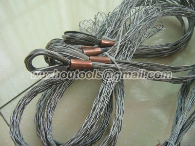 Stainless steel cable socks with single/double-head