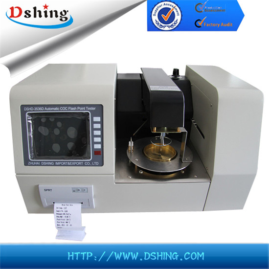 DSHD-3536D Fully-automatic Cleveland Open Cup Flash Point Tester