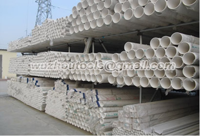 Pipe PVC-U white/grey calss for water supply