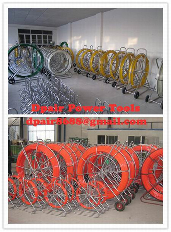 4mm-16mm diameter fiberglass duct rodder,quality duct rodder