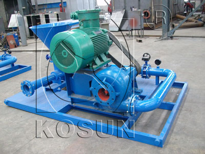 Jet Mud Mixer for Oilfield Mud Management