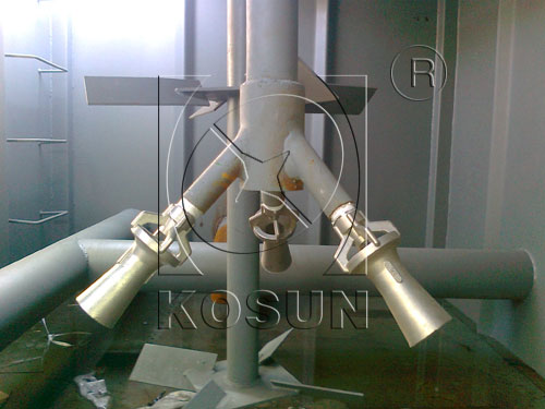 Drilling mud gun manufactured for oil drilling