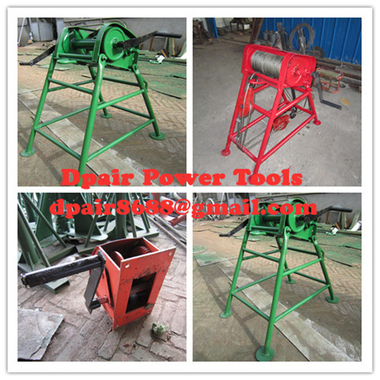 manufacture Powered Winches, best quality cable puller,Cable Drum Winch