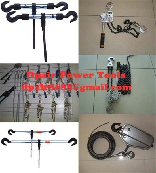 High quality Chain Hoist,3 Ton Manual Hoists/Ratchet Puller low price