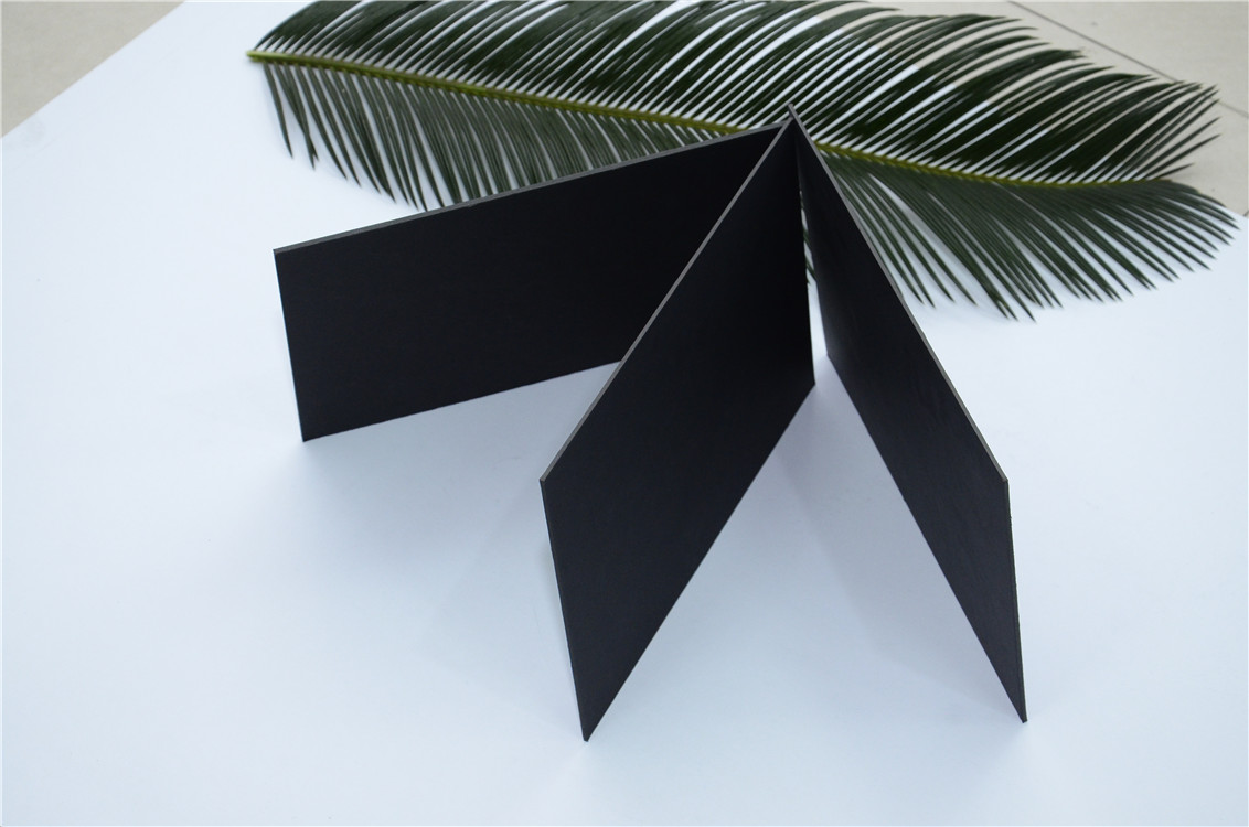 Wholesale China stocklot top quality black paper