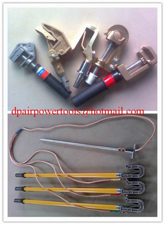 High Voltage Portable Earth Rod,Portable short-circuit earthing rod