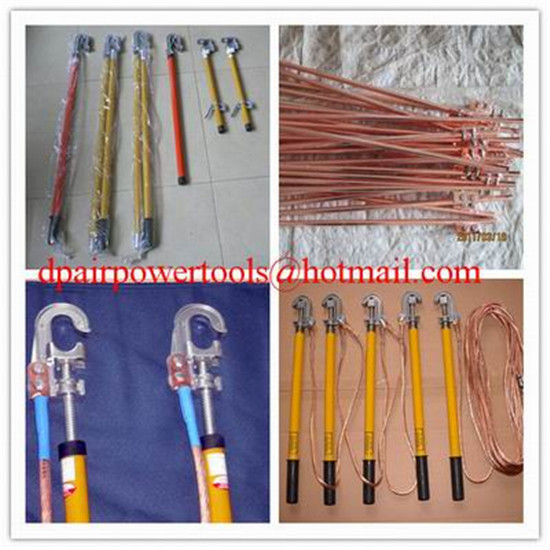 Copper grounding rod&earth rods,Short-circuit Grounding operation Pole