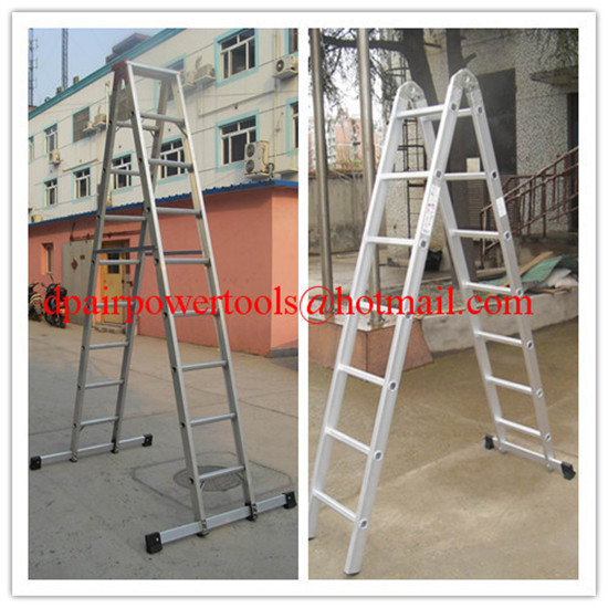 Aluminium Telescopic and extension ladder&household ladder,