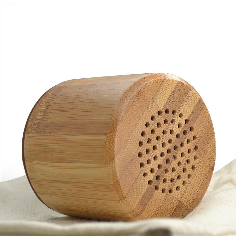 Hairong x3 Music cylinder shape bluetooth mini wireless speaker