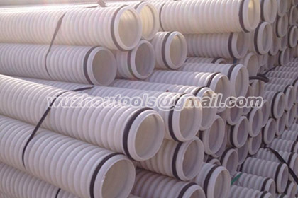 HDPE pipe for drainage,waterproof ,double wall corrugated pipe