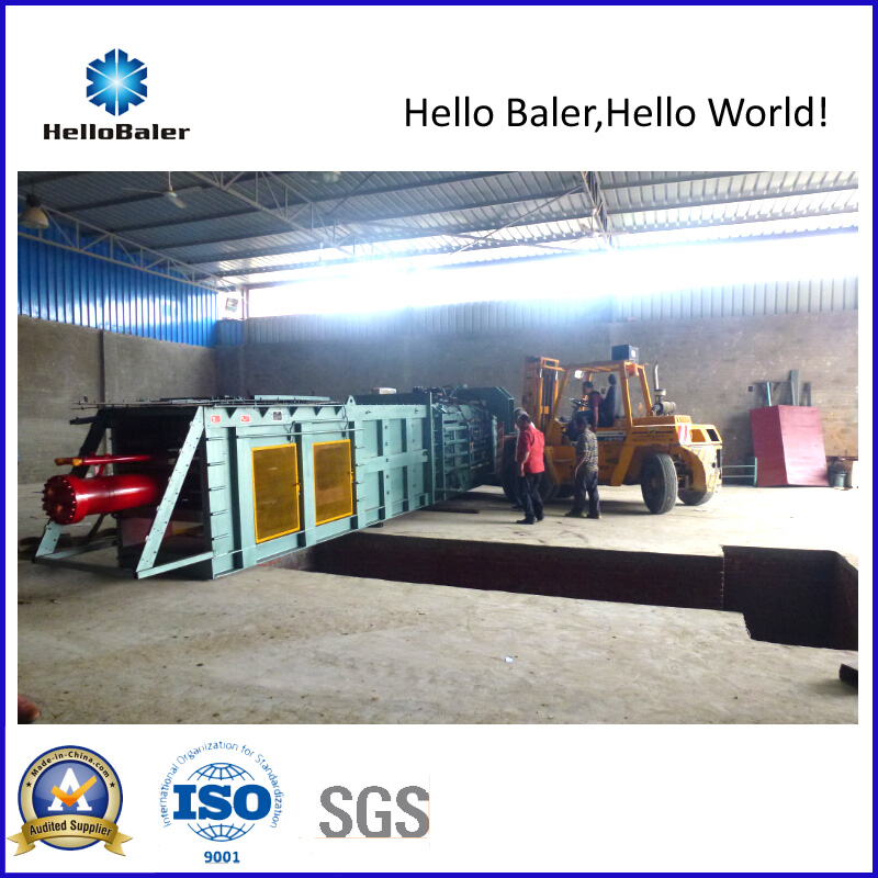 Automatic Baler offer the best solution to meet your high capacity baling requirement, the capacity of our Automatic Baler is up to 25t/h. With the automatic wire tier, our Automatic Baler can save yo