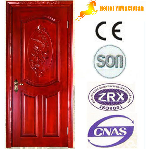 Solid wooden door from Shijiazhuang,Hebei,China