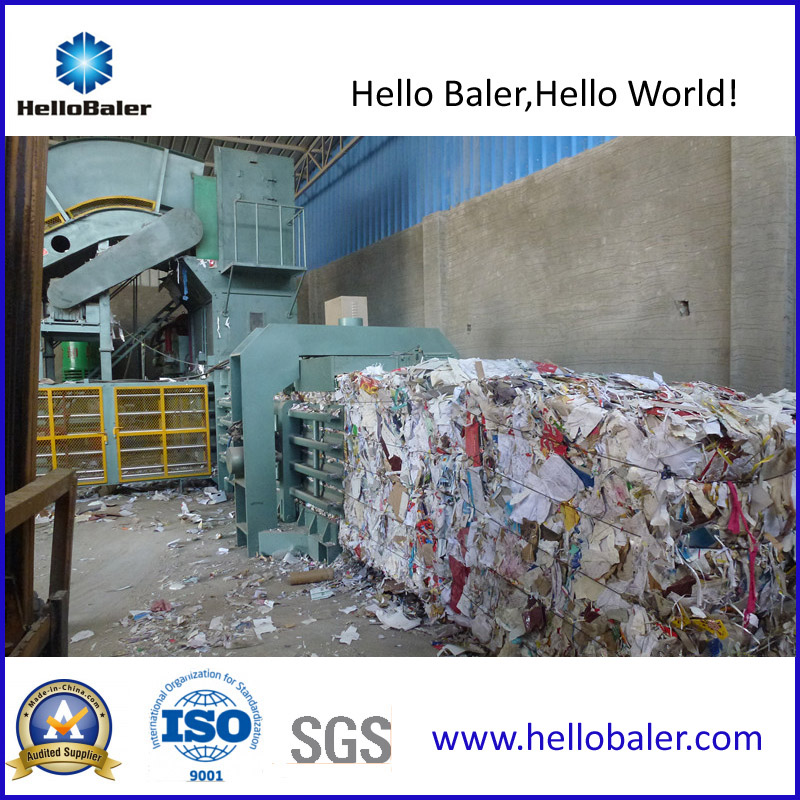 Hfa20-25 Automatic Cardboard Waste Paper Baler