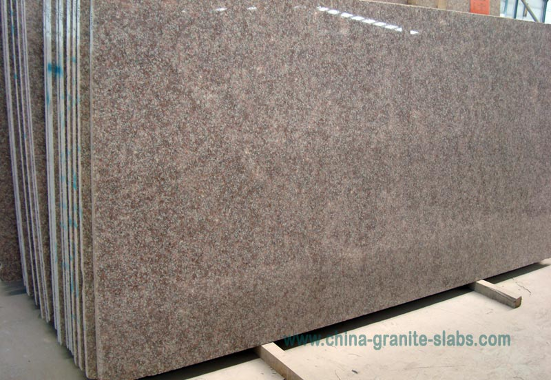 China G611 Granite Slabs,Pink Almond Mauve and Big Slabs