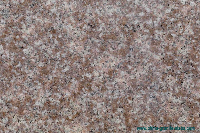 China G687 Peach Red Granite Slabs Gangsaw Slabs Supplier