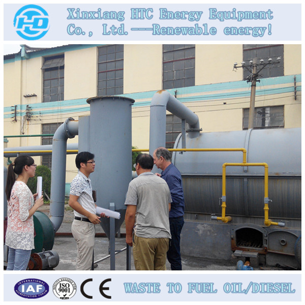 Tyre Pyrolysis Recycling Oil Machinery
