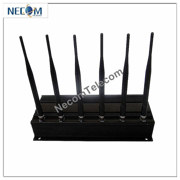 Six Bands Handheld WiFi and Cell Phone Signal Jammer with Single-Band Control
