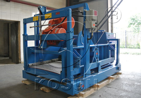 Oil drilling mud linear motion shale shaker