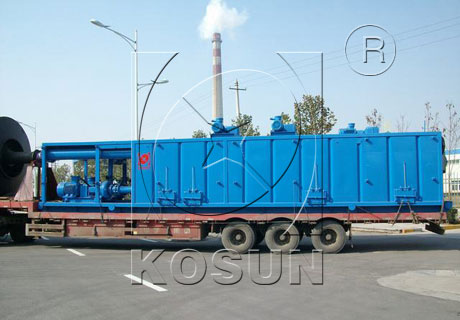 Drilling mud tank for solid control system