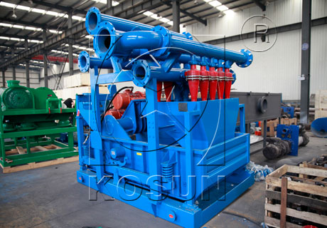 Oilfield Drilling Mud Cleaner Used In Solid Control System