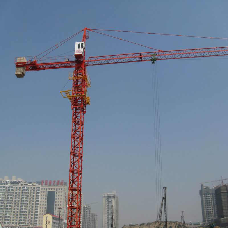 2014 New Product Small Mini 8t Tower Crane for construction / QTZ80 (6010) on sale