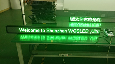 P4.8 single green led signs