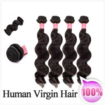 100g 1pc Brazilian loose Wave Human Hair